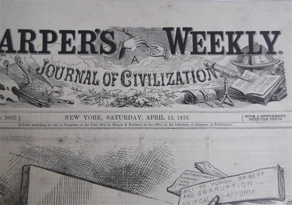 20 1870's Harper's Weekly - 3
