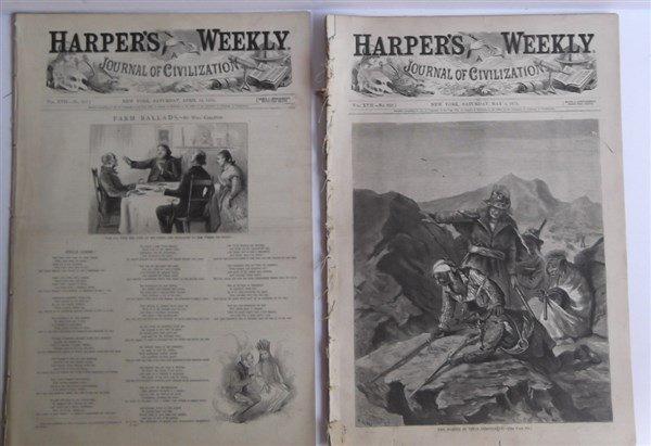 20 1870's Harper's Weekly - 6