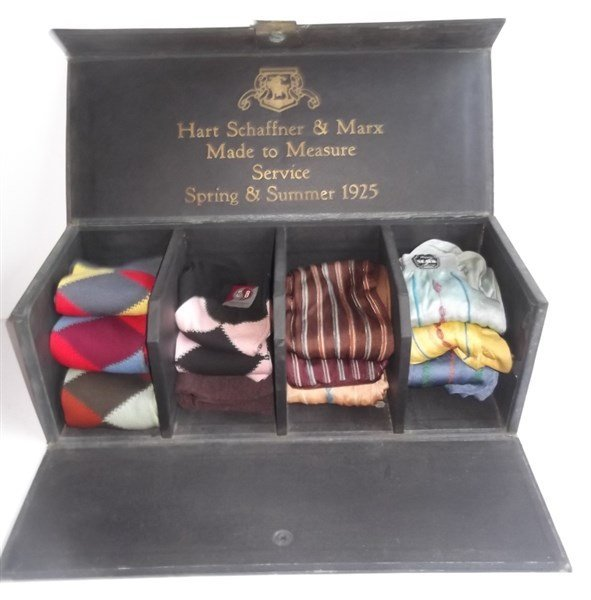 Hart Schaffer & Marx sock samples