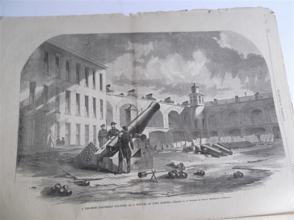 5 1860's Civil War Harper's Weekly - 10