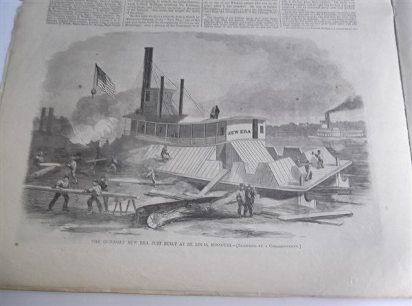 5 1860's Civil War Harper's Weekly - 4
