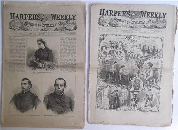 5 1860's Civil War Harper's Weekly - 7