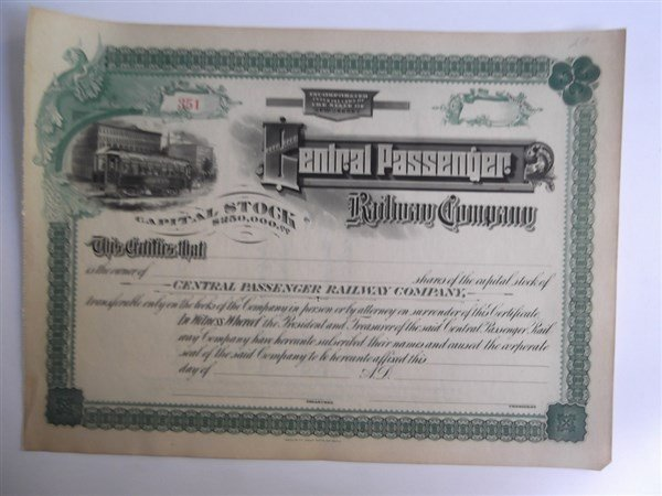 6 Railroad bonds - 3