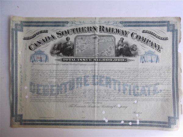 6 Railroad bonds - 4