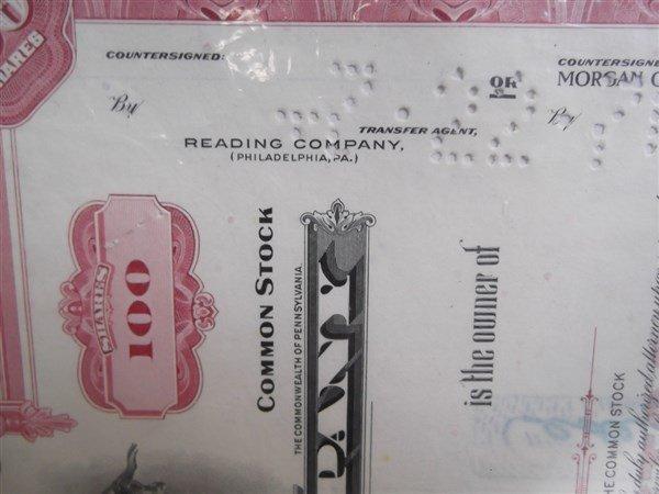 6 Railroad bonds - 6