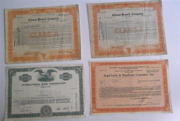 21 stock bonds - 3
