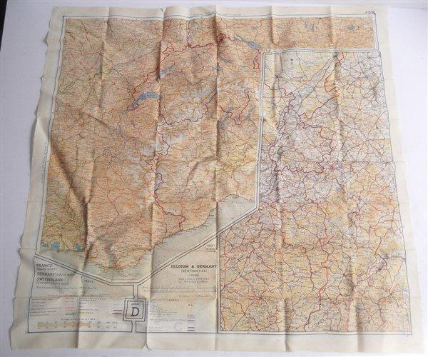 2 maps on silk - 2