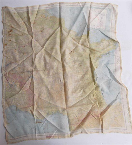 2 maps on silk - 4