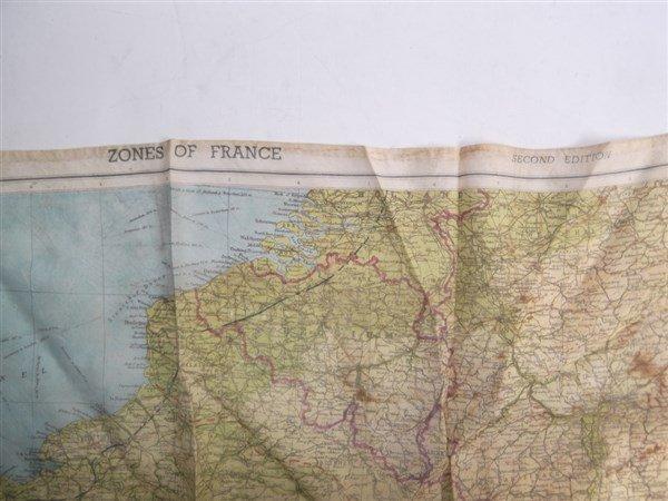 2 maps on silk - 5