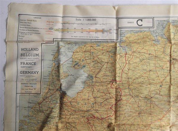 2 maps on silk - 7