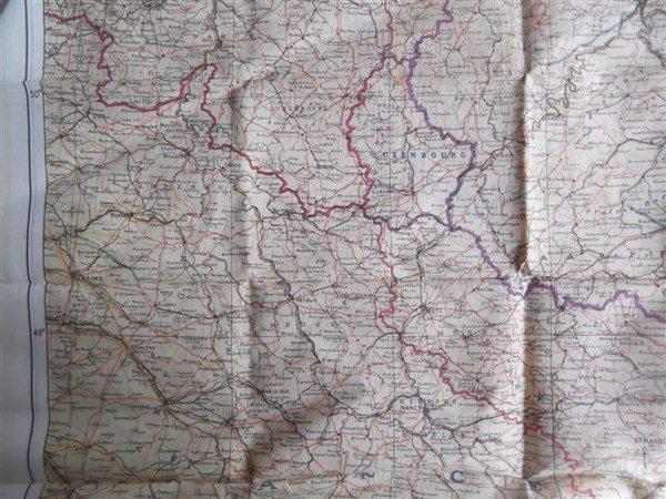 2 maps on silk - 8