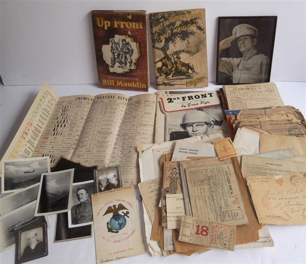 Collection of WWII  related items