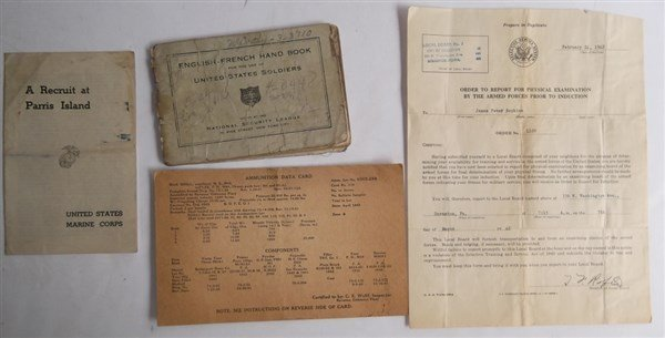 Collection of WWII  related items - 5