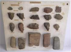 Collection of Hudson River Indian artifacts