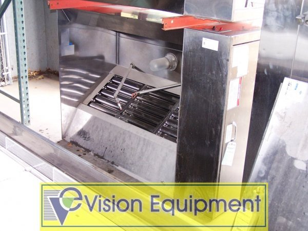 8: EXHAUST HOOD STAINLESS STEEL