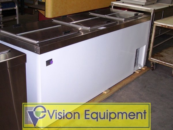 16: ICE CREAM TUB STORAGE FREEZER NSF