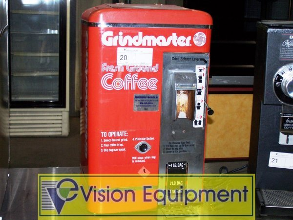 20: COFFEE GRINDER MILLING MACHINE GRINDMASTER