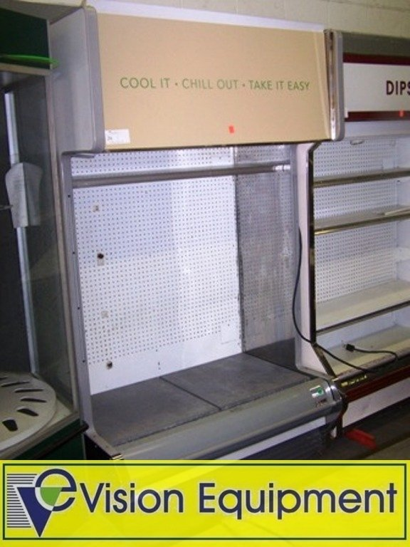 Used Commercial Hill Refrigerator / Cooler Display Case