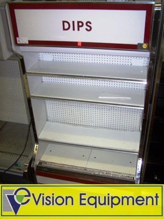Used Commercial Kysor Refrigerator /Cooler Display Case