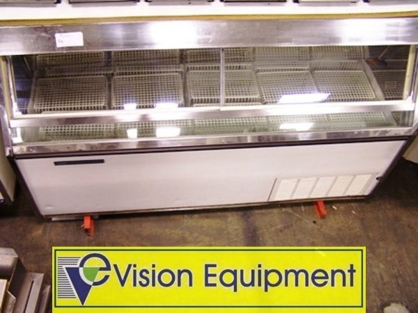 Used Commercial Ice Cream Freezer Dipping Cabinet