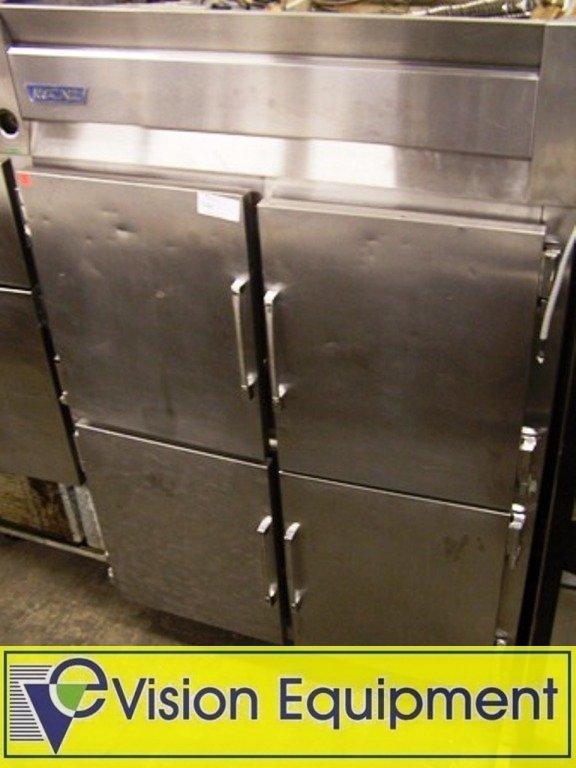 Used Commercial Cooler Refrigerator McCall 4 Split Door
