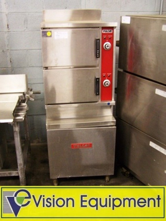 Used Commercial Vulcan Double Gas Steamer