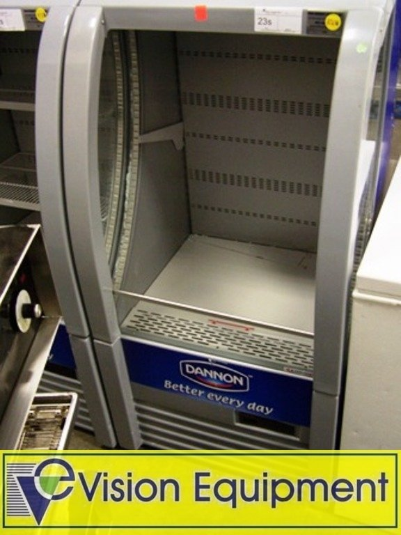Used Commercial Refrigerator / Cooler Display Case