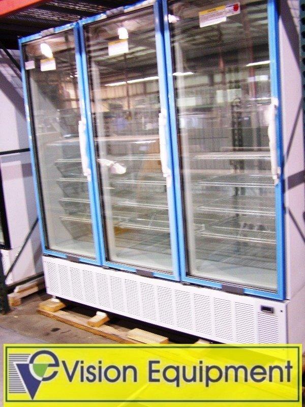 New Commercial display freezer
