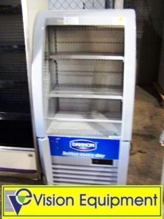 19: Used commercial AHT small drink cooler display