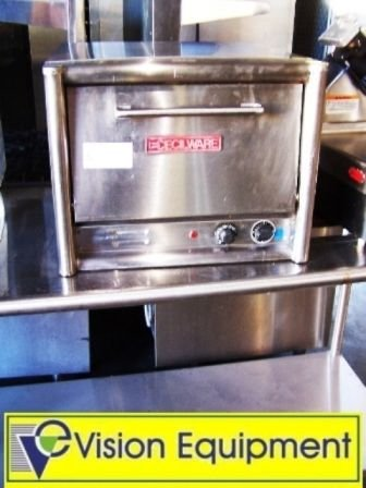5: Used commercial countertop electric deck pizza oven