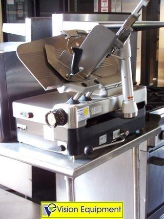 6: Used Commercial Berkel meat deli cheese slicer