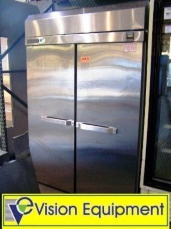 14: Used commercial Hobart 2 door refrigerator cooler