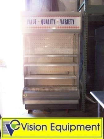 15: Used commercial open front display case