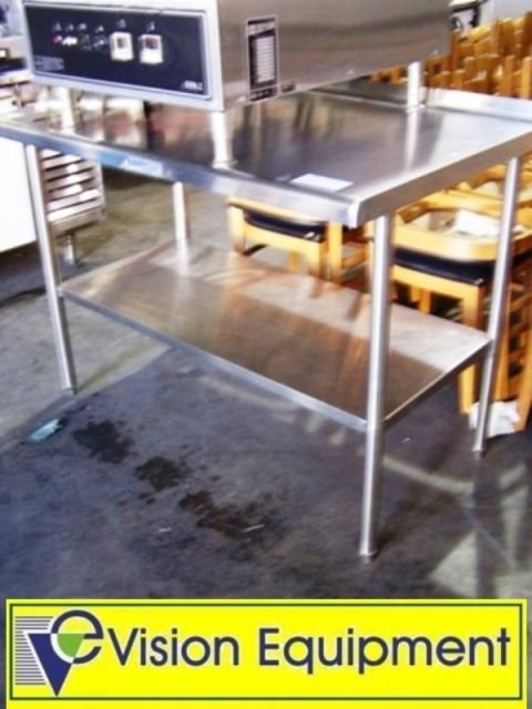 20A: Used commercial stainless steel table