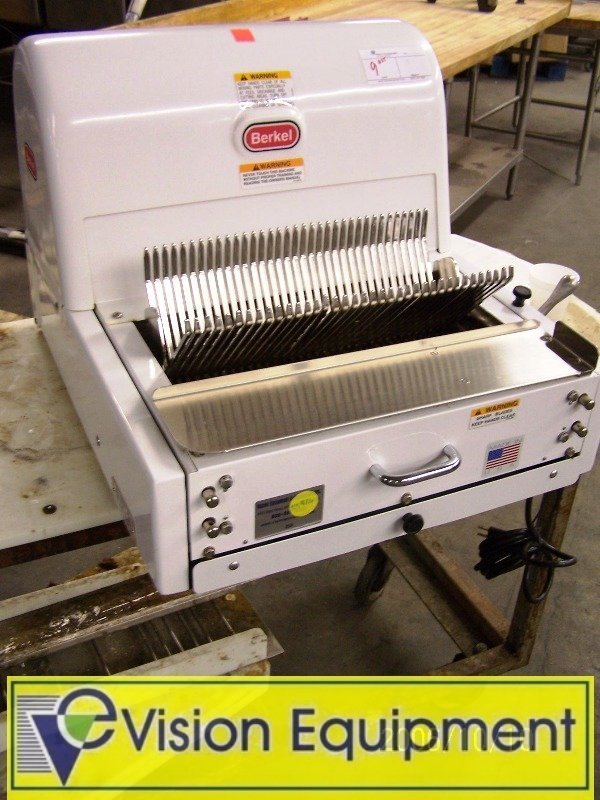 Used Commercial Berkel Bread slicer