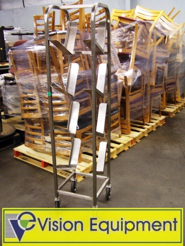 Used Commercial 10 # Can Rack