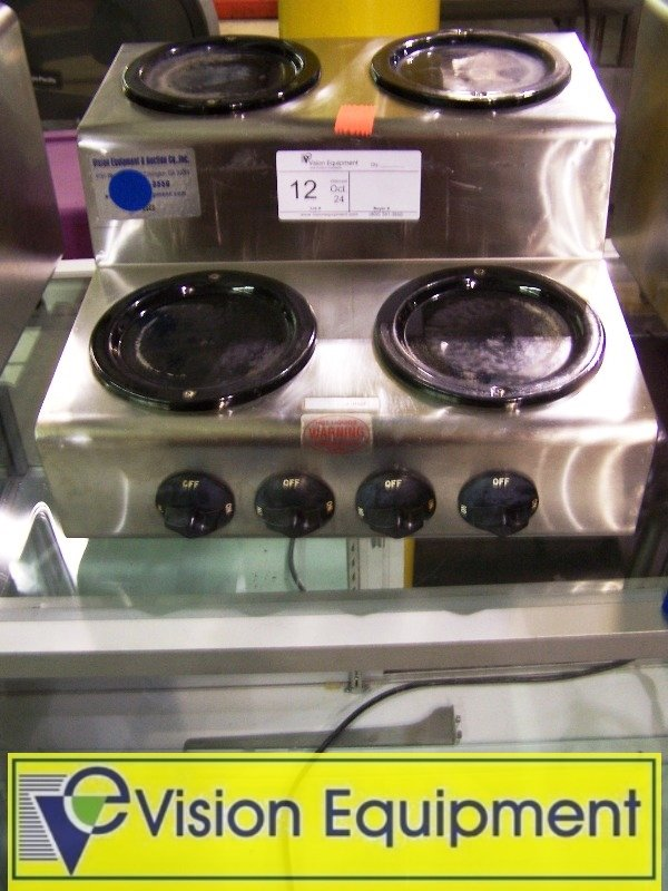 Used Commercial 4 Coffee Warmer