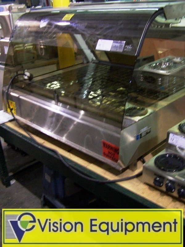 used Commercial Alto-Shaam heated deli display case
