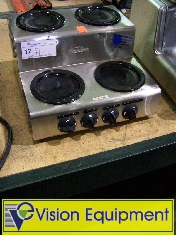 Used Commercial 4 Eye Hot Plate