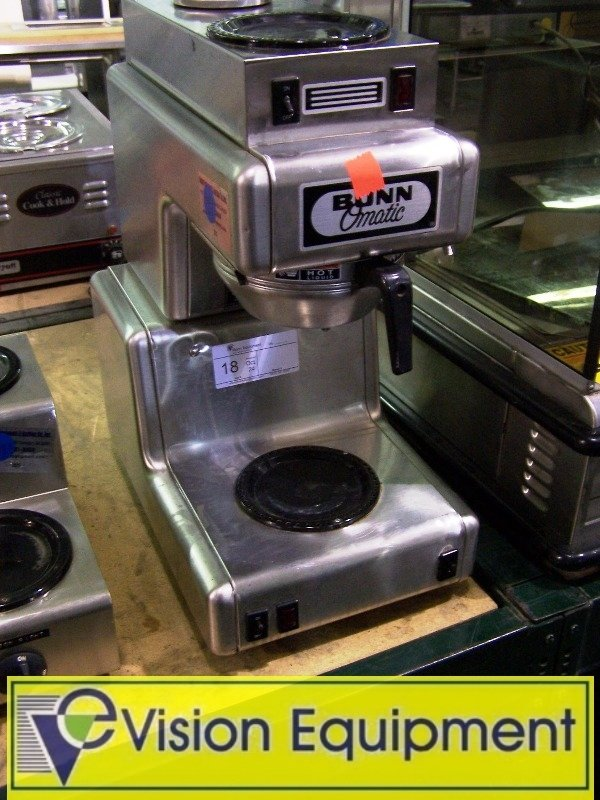 Used Commercial Bunn Omatic Coffee maker