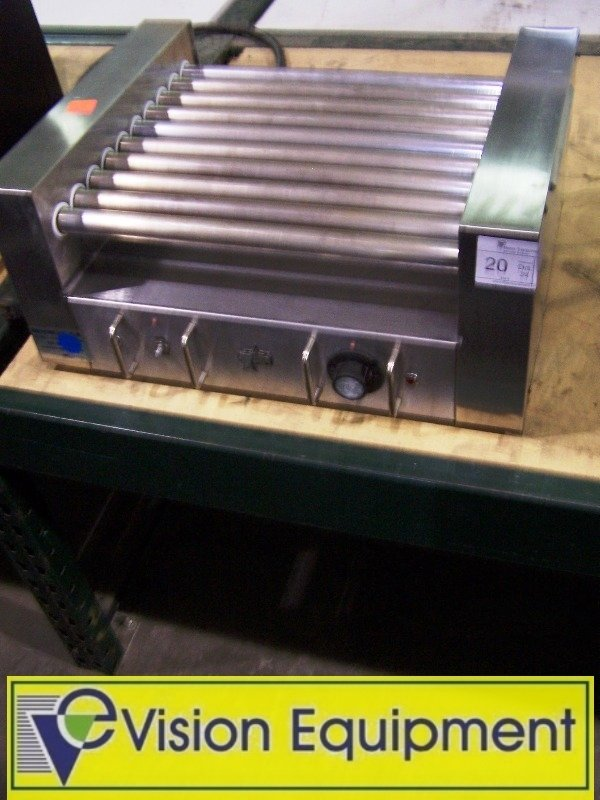 Used Commercial Star hot dog roller grill