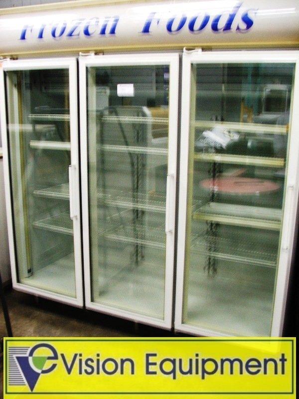 Used Commercial Frigidaire 3 Door Freezer