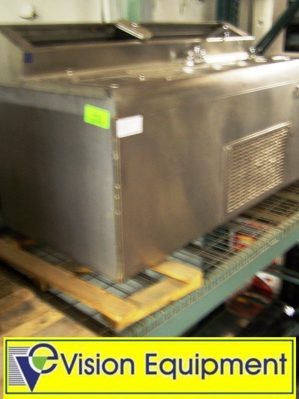 Ice Cream Parlor 3 Compartment Sink with freezer