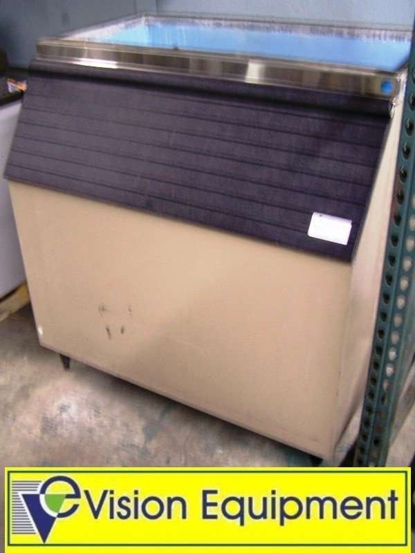 Used Commercial Ice Bin Container Storage Unit