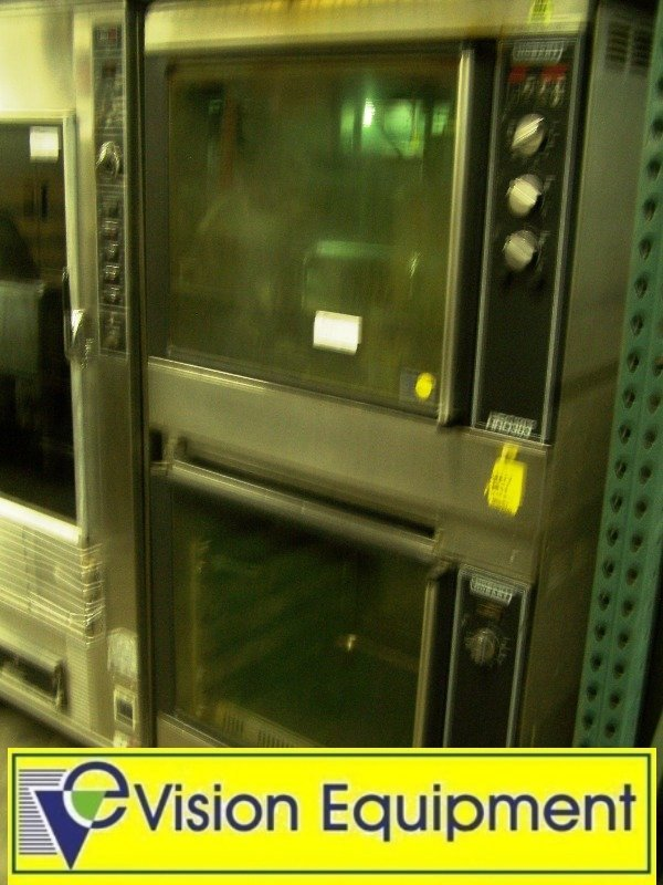 Used  Hobart Rotisserie Oven w Heating Cabinet