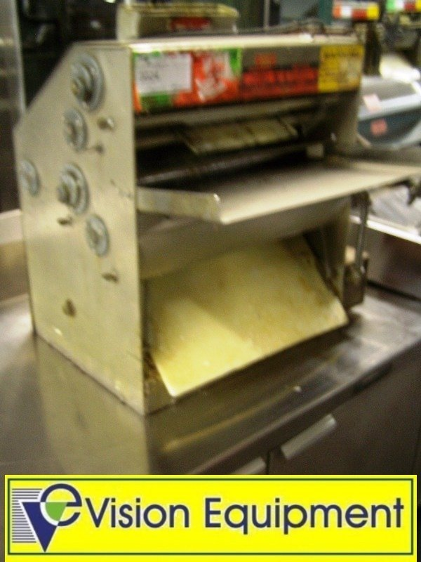 Used Commercial Counter Top Pizza Dough Sheeter