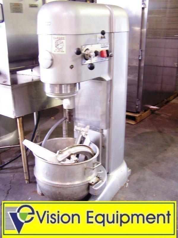 used commercial Hobart M802 80 qt. Mixer