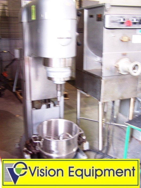 used commercial Hobart V140-1 140 qt. Mixer