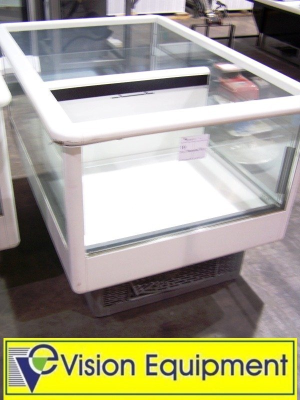 used commercial Carrier open air self-contained cooler