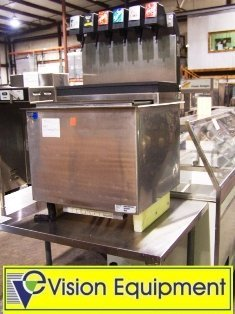 used Cornelius 6-head soda dispenser w/ice bin